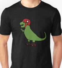 Roller Derby T-Rex Unisex T-Shirt