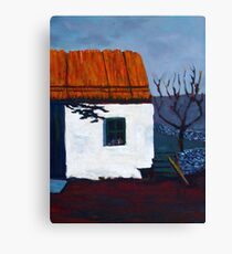 Donegal Cottage II Canvas Print