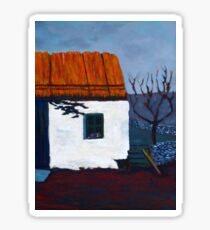 Donegal Cottage II Sticker