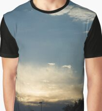 Suburban Sunset Graphic T-Shirt