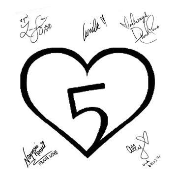 Fifth Harmony + Signs de letitbeglee