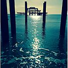 Waters Edge At West Pier by Adam Regester