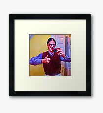 Mommie Loves Me Framed Print