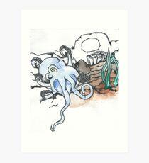Vampyroteuthis Infernalis Art Print