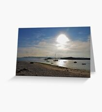 Anchorage In The Isles Of Scilly Greeting Card