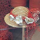 A decorative little straw hat by bubblehex08