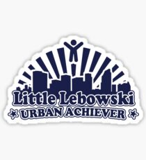 Little Lebowski Urban Achiever Sticker