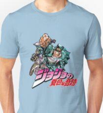 Jojo's bizarre adventure | Jotaro Kujo & Star Platinium Unisex T-Shirt