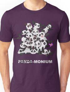 PANDA-monium Unisex T-Shirt