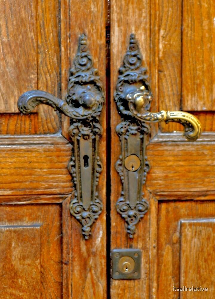 Antique Door Hardware Italy by itsallrelative