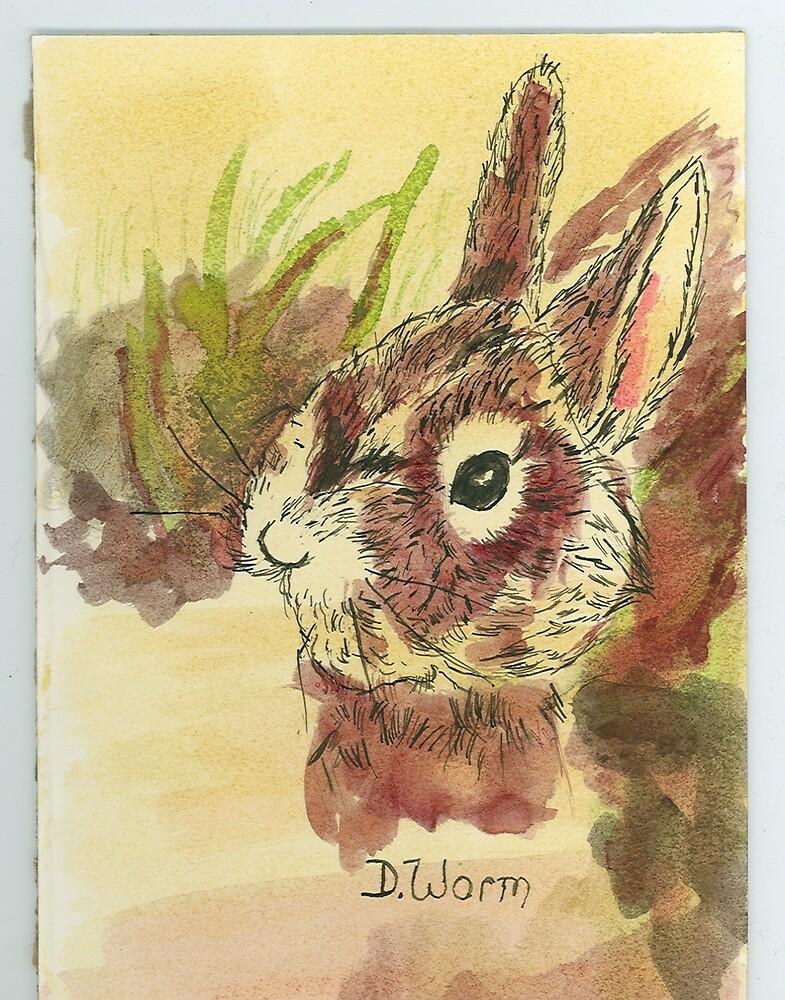 rabbit by wormink