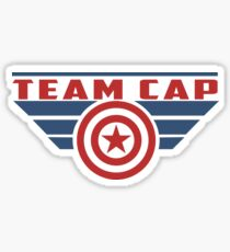 PLEASE SUPPORT TEAM CAP Sticker