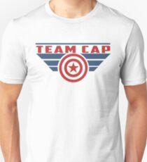 BITTE SUPPORT TEAM CAP Slim Fit T-Shirt