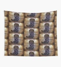 Western Boot Wall Tapestry