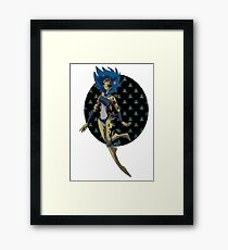 Shark Dancer Framed Print