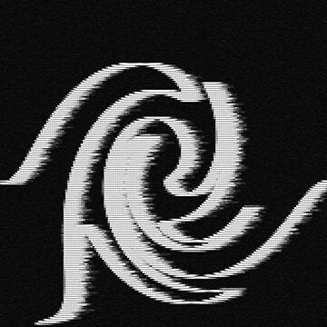 Pixelated wave by Voodoo-Matsu