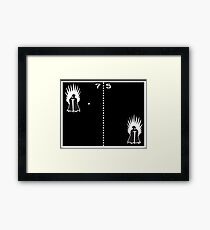 Game of Ping Pong Framed Print