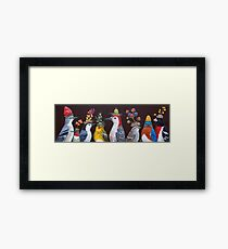 Woody hosts the Berry Festival Framed Print