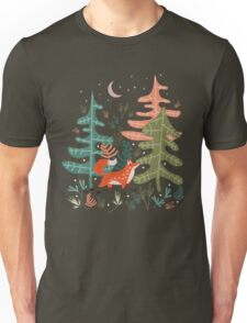 Evergreen Fox Tale Unisex T-Shirt
