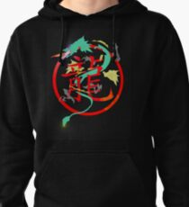 Chimera, with searing eyes Pullover Hoodie