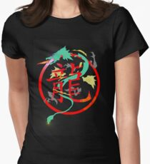 Chimera, with searing eyes Women's Fitted T-Shirt