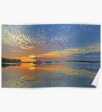 Big Sky Morning Poster