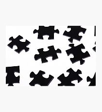 Puzzle Pieces Photographic Print