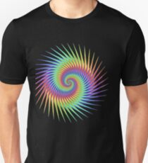 Dizzy Swirling Rainbow Spin T-Shirt