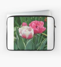 Pink and white tulips Laptop Sleeve