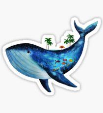 Blue whale Sticker