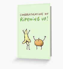 Ripening Up Greeting Card