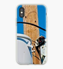 Close up on power iPhone Case