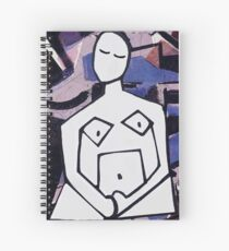 Goddess of Rest Spiral Notebook