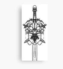 Sword and Shield Canvas Print