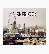 Sherlock & London Photographic Print