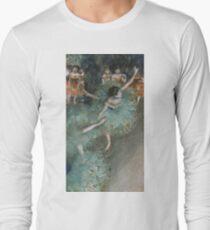 Edgar Degas - Swaying Dancer. Degas- Dancer in Green ,  show, ballet, dancers, ballerina, ballet dancer, dance, impressionism, music, opera, tutu , dress, beauty, love, girls, party Long Sleeve T-Shirt
