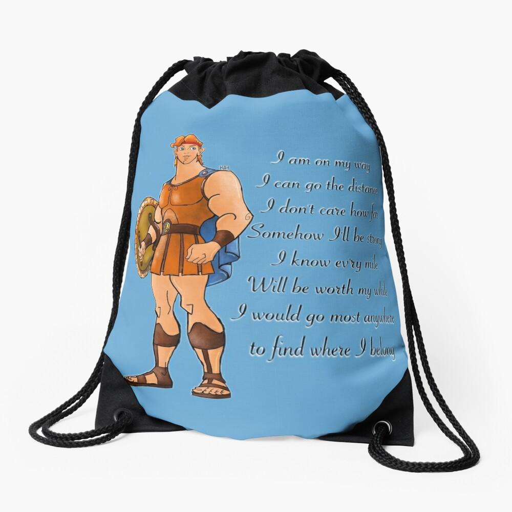 Hercules  Drawstring Bag