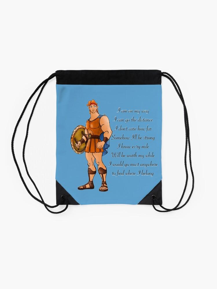 Alternate view of Hercules  Drawstring Bag