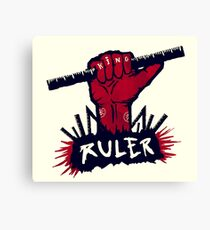 RULER Canvas Print