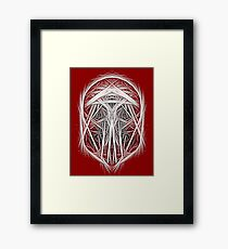 And Then He Spoke Framed Print
