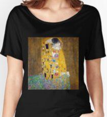 Gustav Klimt - The Kiss Women's Relaxed Fit T-Shirt