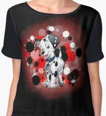 Puppy Dog Chiffon Top