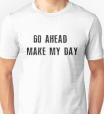 Dirty Harry Movie Quotes T-Shirt