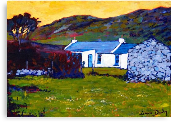 Cottage from Sheep Field by eolai