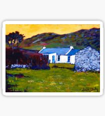 Cottage from Sheep Field Sticker