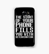 Undertale - Determination  Samsung Galaxy Case/Skin