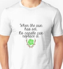 When the Sun sets Unisex T-Shirt