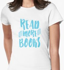READ MORE BOOKS Womens Fitted T-Shirt