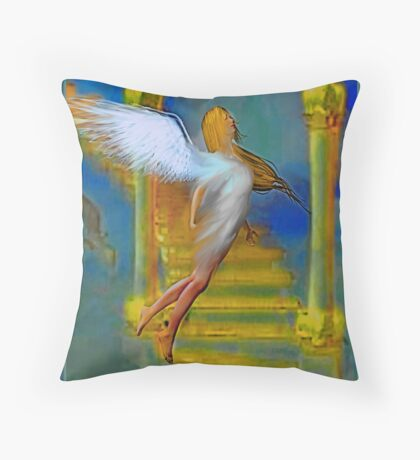 HEAVENS ANGELS Throw Pillow