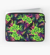 Coral Carnation - Green/Purple Laptop Sleeve